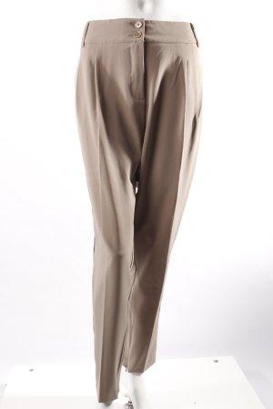 3Suisses Bundfaltenhose beige