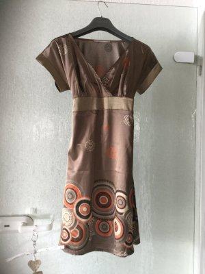 3suisses Kleid glänzender Stoff Größe 32