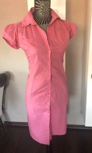 Vestido de camuflaje rosa