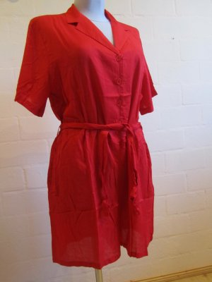 3 Suisses Robe rouge viscose