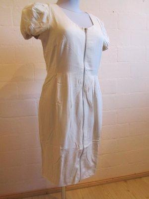 3SUISSES: Schmales Kleid, cremefarben, Gr. 42, NEU