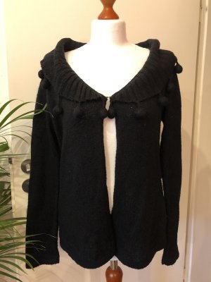 3 Suisses Knitted Cardigan black