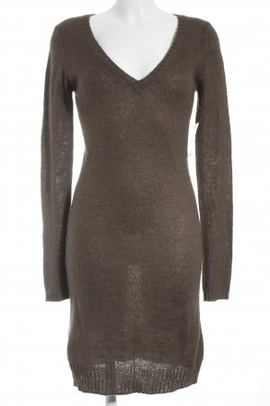 3suissescollection Sweater Dress light brown casual look