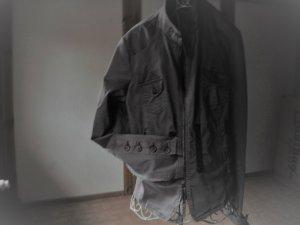 Business Suit grey brown cotton