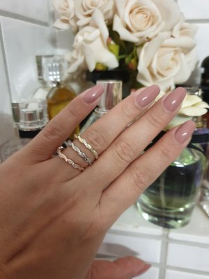 3teiliges Ring Blogger Style