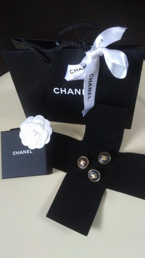Chanel Broche noir-doré