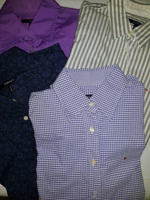 4 GANT-Blusen zu einem Preis,  Gr. 38, 40, 42