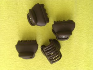 Ebelin Hair Clip dark brown