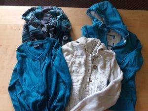 4 Jacken Größe 152 bis S