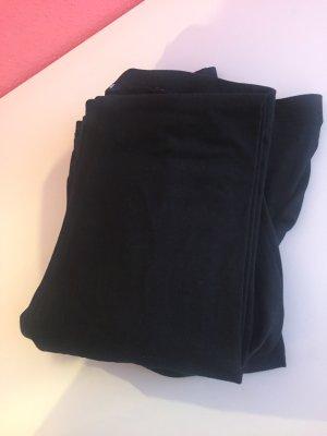 4 leggings schwarz high waist hoher Bund