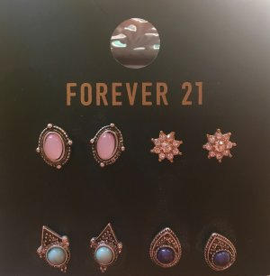 Forever 21 Ear stud multicolored
