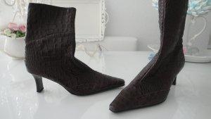 4 Paar neue Damen Stiefeletten Leder Top Marken Unisa, Kaiser 41