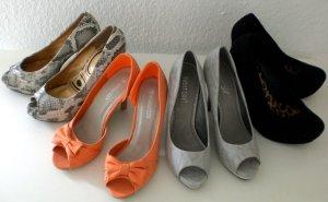 4 Paar Schuhe Gr. 39
