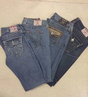 4! True Religion Jeans