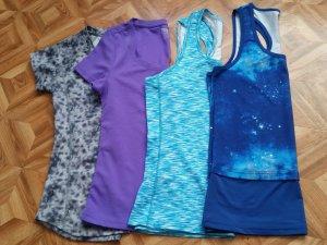 4× Veschiedene sport T-Shirts