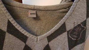 4Wards Maglione con cappuccio grigio chiaro-grigio scuro