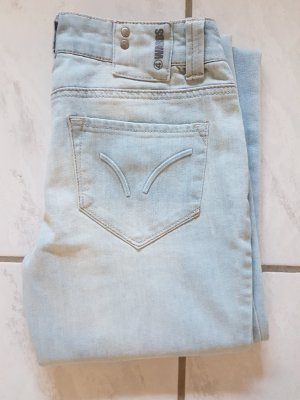 4Wards Pantalon pattes d'éléphant bleu azur