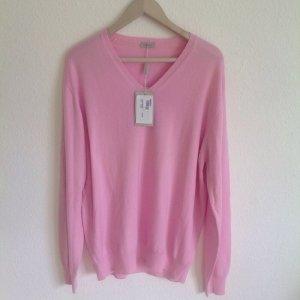 400€ Designer Kaschmir Cashmere Pullover Pastell Rosé // 38 40 42 44 Oversized