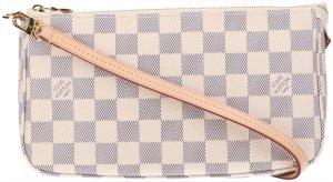 40010 Louis Vuitton Pochette Accessoires NM Damier Azur Canvas Tasche - Handtasche