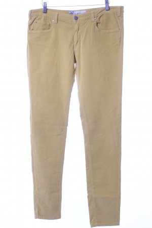 40Weft Cordhose dunkelgelb Casual-Look