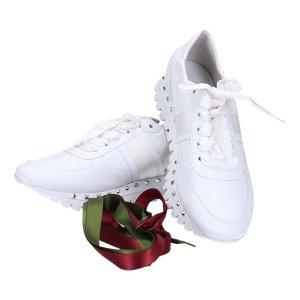 42538 Kennel & Schmenger Sneaker Schuhe in Größe 5,5 - 38,5 in weiss mit Ersatzschnürsenkel