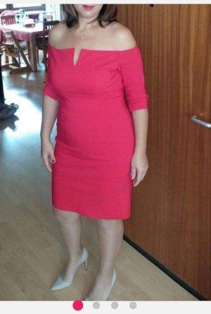 4F Pencil Dress red