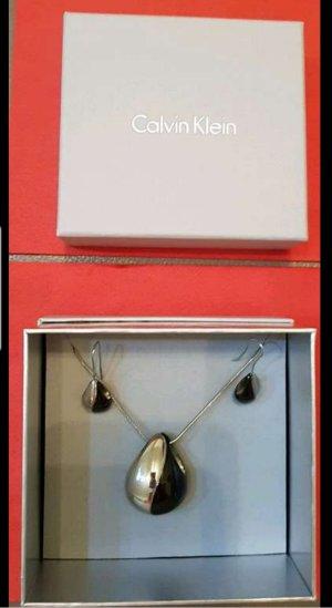 Calvin Klein Pendant d'oreille noir-argenté bronze