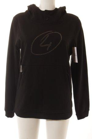 4Wards Sweatshirt schwarz Casual-Look