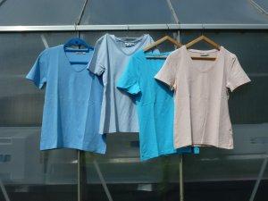 4x Damen T-shirt Gr 40 /42