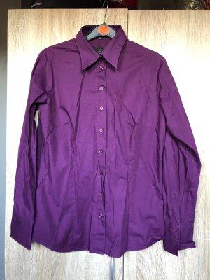 4x Greiff Langarm-Blusen in violett