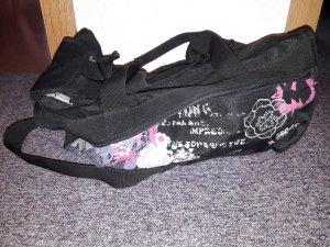 4You Sporttasche schwarz/pink/weiß