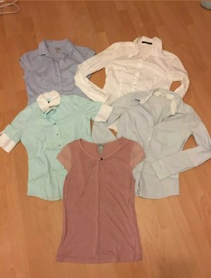 5 Blusen Set zum einen Preis - Gr. 36