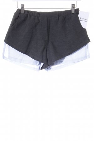 5 inch and up for NELLY Shorts antracite-azzurro stile minimalista