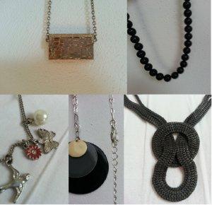 5 Ketten!! H&M Pieces Coachella Accessorize