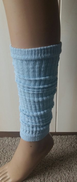 Legwarmers light blue