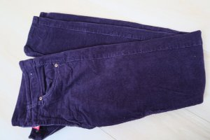 5-Pocket Cord-Hose in violett regular-waisted / skinny
