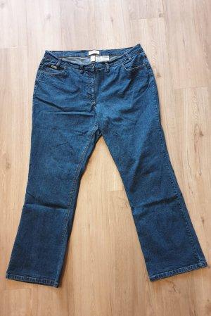 5-Pocket Damen Jeans dunkelblau Größe 52