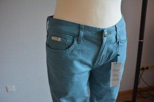 Tommy Hilfiger Five-Pocket Trousers cadet blue cotton
