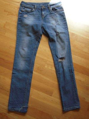 5-Pocket-Jeans Boyfriend Fit blau