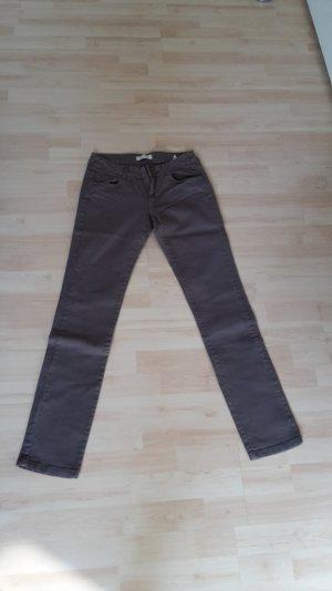 5-Pocket-Jeans in braun