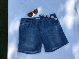 5-Pocket Jeansshorts in mittelblau