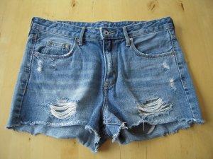 5-Pocket-Jeansshorts used Look