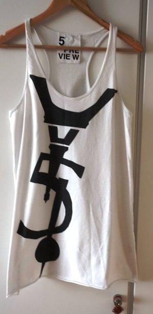 5 Preview Vestido estilo camisa negro-blanco