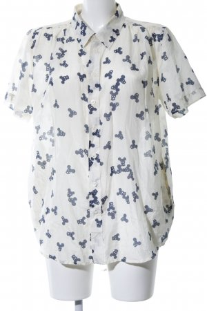 5 Preview Short Sleeve Shirt blue allover print casual look