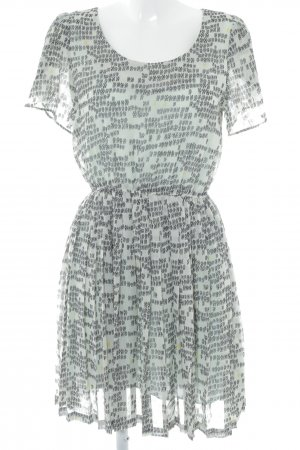 5 Preview Shortsleeve Dress abstract pattern elegant