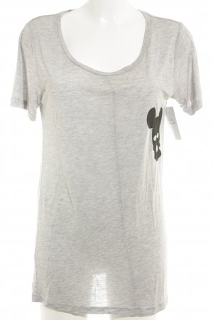 5 Preview Long Shirt light grey flecked casual look