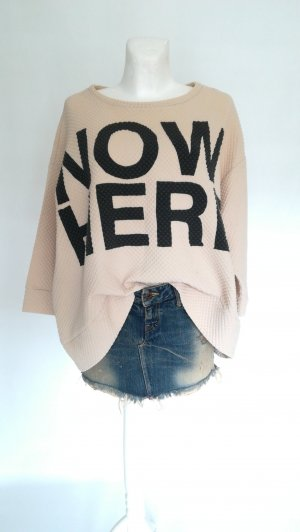 5 Preview Oversized Sweater nude