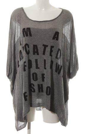 5 Preview Camicia maglia grigio-nero stile casual