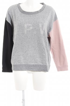 5 Preview Sweat Shirt color blocking casual look