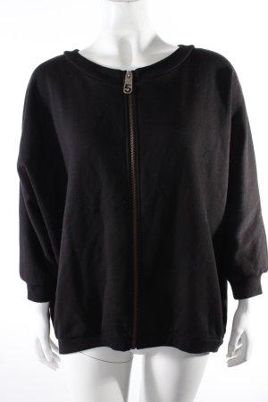 5 Preview Sweatshirt mit Reißverschluss